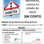 6ª Campaña gratuita para la prevención y control de la diabetes