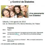 5ª Campaña gratuita para la prevención y control de la diabetes