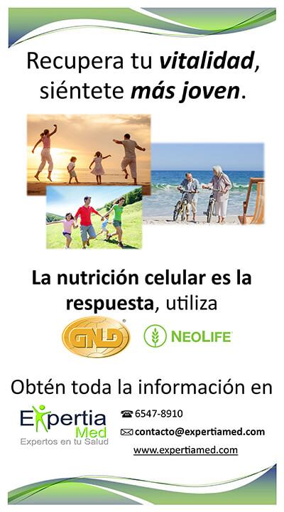 Complemento Nutricionales en Expertia Med Clinica